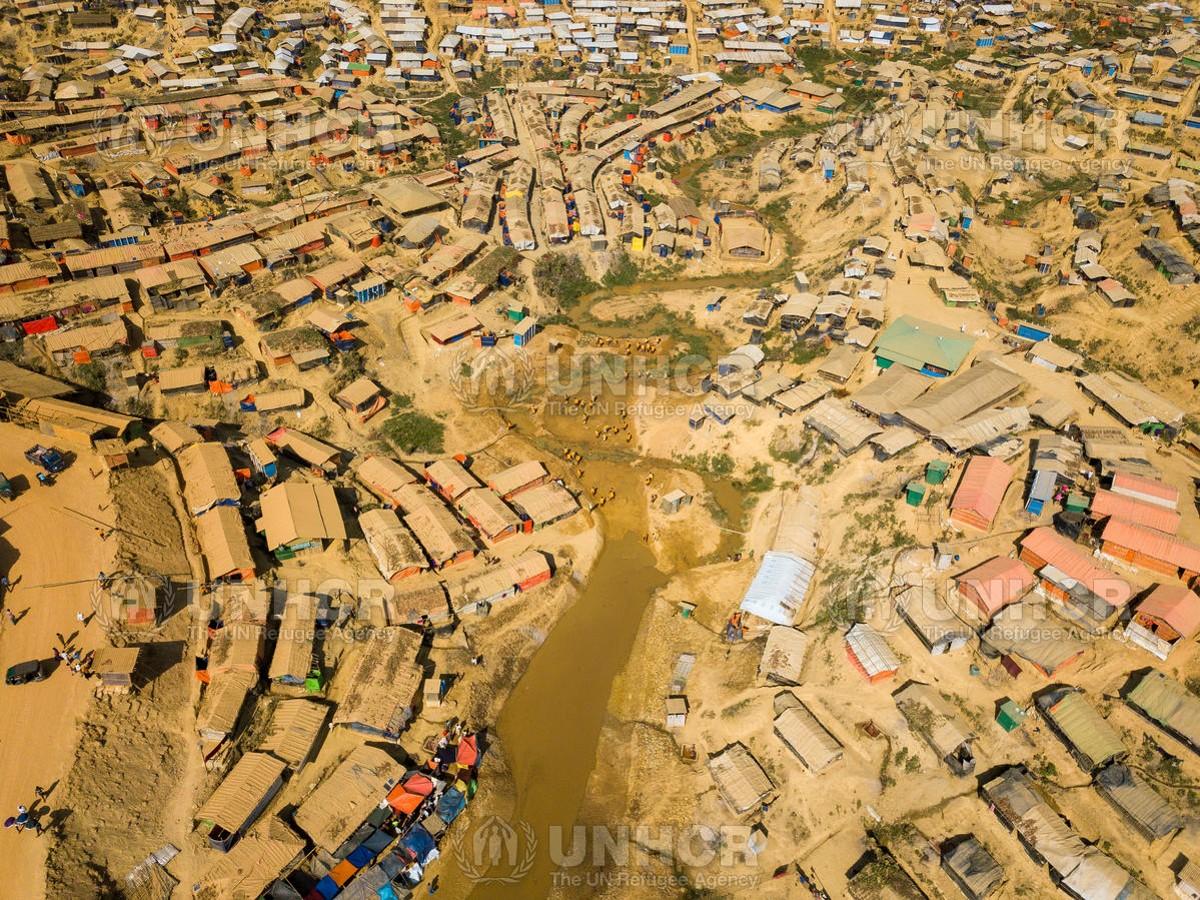 Kutupalong Refugee camp in Cox's Bazaar