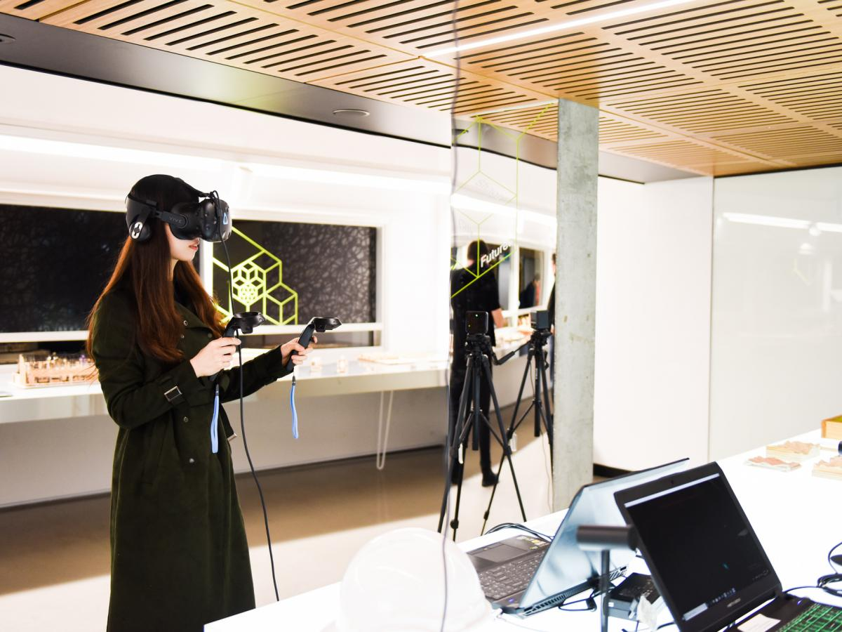 UNSW Built Environment student uses VR for computational design