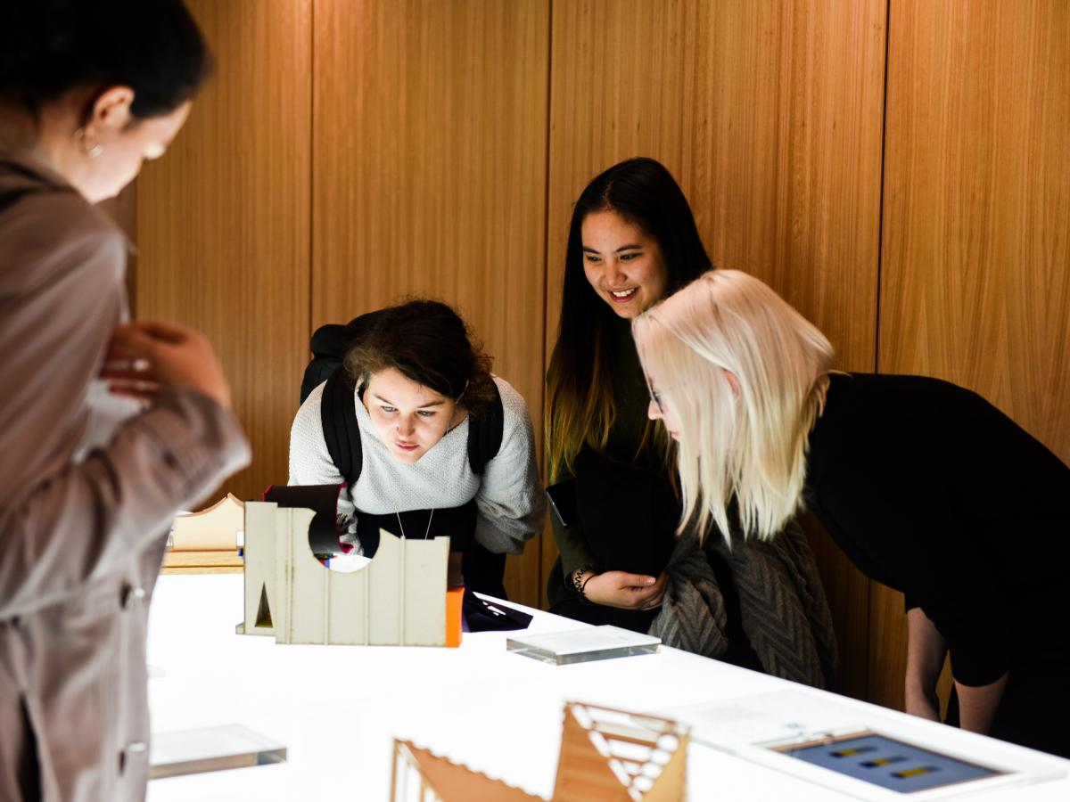 UNSW Architecture students at Luminocity exhibition