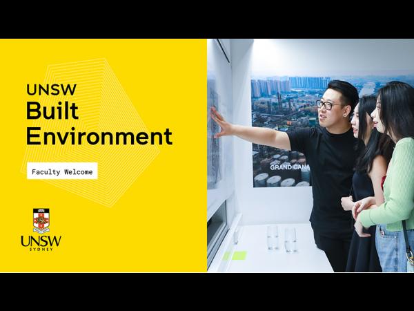 UNSW Built Environment Orientation Term 3 2020