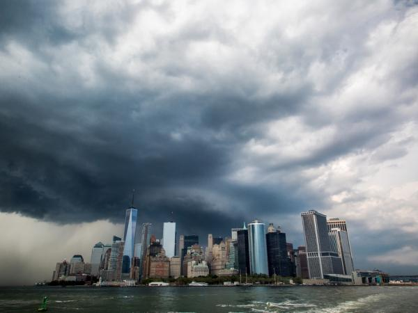 City experiencing extreme weather event