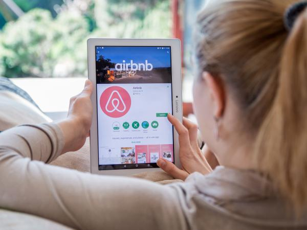 By making short-term letting more efficient and less risky, digital platforms like Airbnb have reduced numbers of long-term rental properties in some areas. Image from Shutterstock