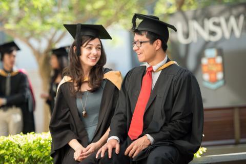 UNSW graduation day