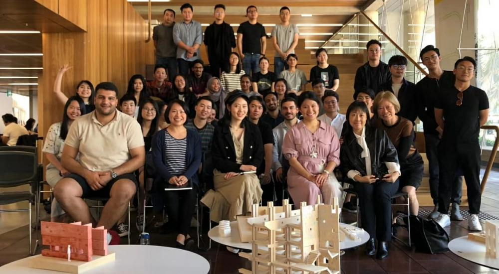 High-profile guest lecturers inspire Architecture students