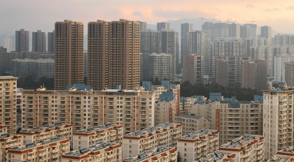 A ghost city in china