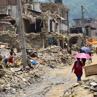 earthquake in nepal