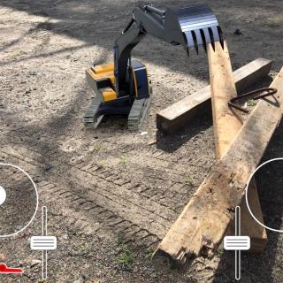 excavator digital twin