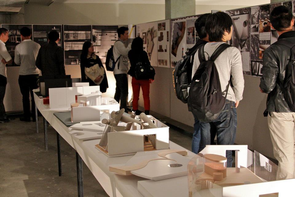 interior architecture program opens interiorspective exhibition